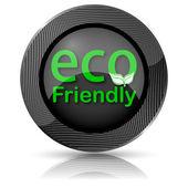 Eco vriendelijke pictogram — Stockfoto