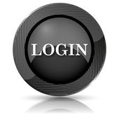Login pictogram — Stockfoto