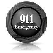 911 Emergency icon — Stockfoto