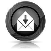 Ontvangen e-mailpictogram — Stockfoto