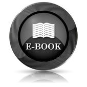 E-book icon — Foto de Stock
