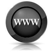 Www 图标 — 图库照片