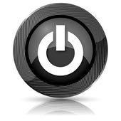 電源ボタンのアイコン — ストック写真