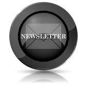 Newsletter icon — Zdjęcie stockowe