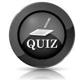 Quiz icon — Stock Photo