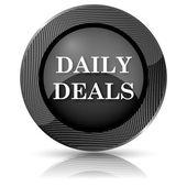 Denní nabídky, ikony — Stock fotografie