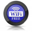 WIFI free icon — Stock Photo #35899715