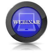 Webinar icon — Stock Photo