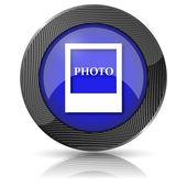 Icono de foto — Foto de Stock