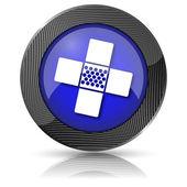 Icono de revisión médica — Foto de Stock
