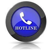 Icône de la hotline — Photo
