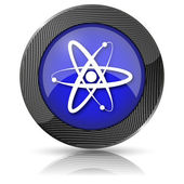 Atoms icon — Stock Photo