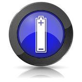 ícone de bateria — Foto Stock
