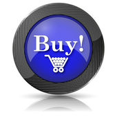 Comprar icono — Foto de Stock