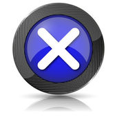 X close icon — Stock Photo