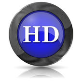 Icono hd — Foto de Stock