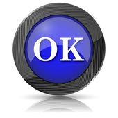 Ok, ikona — Zdjęcie stockowe