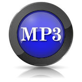 Icono de mp3 — Foto de Stock