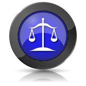 ícone de equilíbrio — Foto Stock