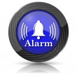 Alarm icon — Stock Photo #35900163