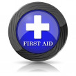 First aid icon — Foto de Stock