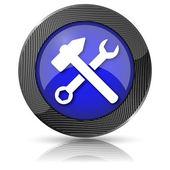 Tools icon — Zdjęcie stockowe