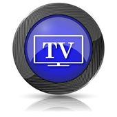 Tv simgesi — Stok fotoğraf