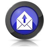 Send e-mail icon — Stock Photo