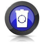 Recycle bin icon — Photo