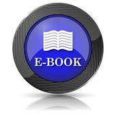 ícono e-book — Foto de Stock