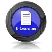 E-learning-symbol — Stockfoto