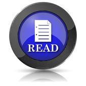 Simge okuyun — Stok fotoğraf