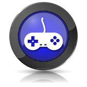 ゲームパッド アイコン — ストック写真