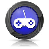 Gamepad icon — Stock Photo