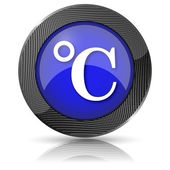 Icona Celsius — Foto Stock