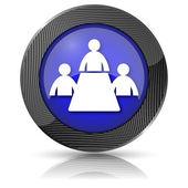 ícone de sala de reunião — Foto Stock