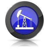 Icono de la bomba de aceite — Foto de Stock