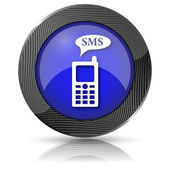 Icono de sms — Foto de Stock