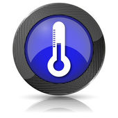 Thermometer-symbol — Stockfoto
