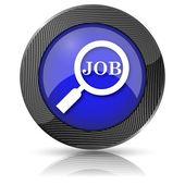 Busque el icono de trabajo — Foto de Stock