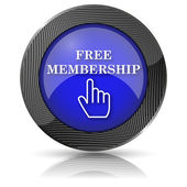 Free membership icon — Stock Photo