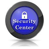 Security center icon — Foto Stock