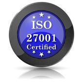 Iso 27001 simgesi — Stok fotoğraf