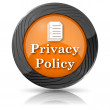 Foto Stock: Privacy policy icon