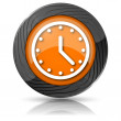 Clock icon — Stock Photo #36165437