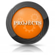 Foto de Stock  : Projects icon