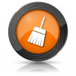Sweep icon — Stock Photo