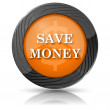 Save money icon — Zdjęcie stockowe