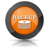 Back-up icon — Stock Photo