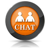 Chat icon — Foto de Stock